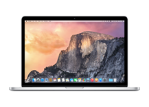 "MacBook Pro 15"" with Retina Display/ Quad-core i7 2.2GHz/ 16GB/ 256GB flash/ Iris Pro Graphics"