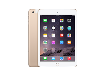iPad mini 3 Wi-Fi + Cellular 128GB - Gold