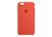 iPhone 6s Plus Silicone Case - Orange