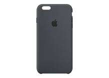 iPhone 6s Plus Silicone Case - Charcoal Grey