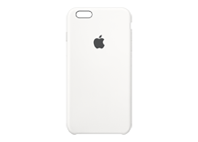 iPhone 6s Plus Silicone Case - White