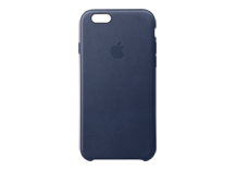 iPhone 6s Plus Leather Case - Midnight Blue
