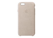 iPhone 6s Plus Leather Case - Rose Grey
