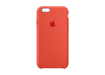iPhone 6s Silicone Case - Orange