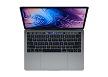 MacBook Pro 13-inch with Touch Bar/ 2.3GHz quad-core Intel Core i5/ 8GB/ 512GB - Space Grey