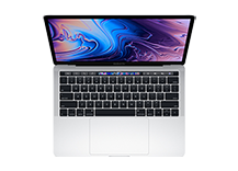 MacBook Pro 13-inch with Touch Bar/ 2.3GHz quad-core Intel Core i5/ 8GB/ 512GB - Silver