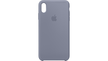 iPhone XS Max Silicone Case - Lavender Grey