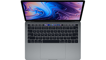 MacBook Pro 13-inch with Touch Bar/ 2.4GHz quad-core Intel Core i5/ 8GB/ 256GB - Space Grey