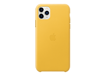 iPhone 11 Pro Max Leather Case - Meyer Lemon