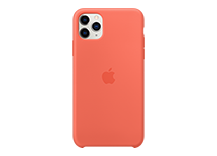iPhone 11 Pro Max Silicone Case - Clementine (Orange)
