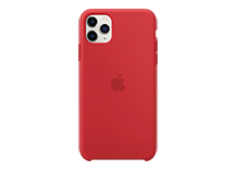 iPhone 11 Pro Max Silicone Case - (PRODUCT)RED