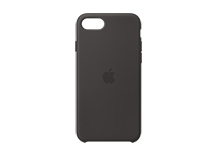 iPhone SE Silicone Case - Black