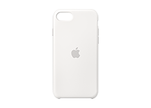 iPhone SE Silicone Case - White