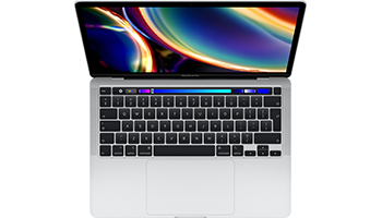 MacBook Pro 13-inch with Touch Bar/ 2.0GHz quad-core Intel Core i5/ 16GB/ 512GB - Silver