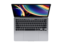 MacBook Pro 13-inch with Touch Bar/ 1.4GHz quad-core Intel Core i5/ 8GB/ 256GB - Space Grey