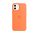 iPhone 12 | 12 Pro Silicone Case with MagSafe - Kumquat