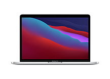 13-inch MacBook Pro/ Apple M1 chip with 8‑core CPU and 8‑core GPU/ 256GB SSD - Silver