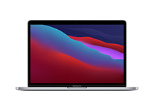 13-inch MacBook Pro/ Apple M1 chip with 8‑core CPU and 8‑core GPU/ 256GB SSD - Space Grey