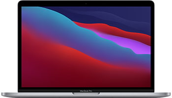 13-inch MacBook Pro/ Apple M1 chip with 8‑core CPU and 8‑core GPU/ 512GB SSD - Space Grey