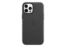 iPhone 12 Pro Max Leather Case with MagSafe - Black