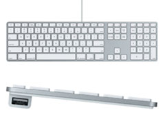 Apple Keyboard with Numeric Keypad Slovak