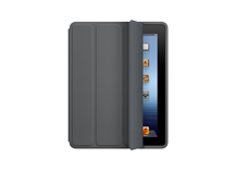 iPad Smart Case - Polyurethane - Dark Gray