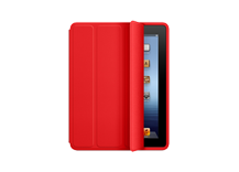 iPad Smart Case - Polyurethane - (PRODUCT) RED