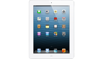 iPad s Retina displejom + Cellular 128GB  - White