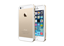 iPhone 5S / 5 Case Neo Hybrid EX Slim Metal - Champagne Gold