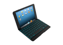 ZAGGkeys Cover Backlit for iPad mini - Space Grey - CZ/SK