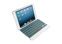 ZAGGkeys Cover Backlit for iPad mini - Silver - CZ/SK