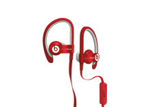 Beats Powerbeats2 Earphones - Red
