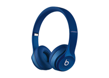 Beats Solo2 Wireless Headphones - Gloss Blue