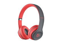 Beats Solo2 Wireless Headphones, Active Collection - Red
