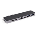 HyperDrive Thunderbolt 3 / USB-C Hub for MacBook Pro - Space Grey