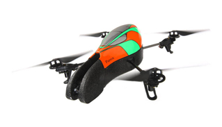 AR.Drone The Flying Video Game Green