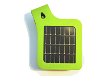 SolarStrap™ for iPod and iPhone (certified for iPhone4) (Green)