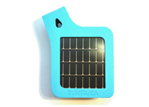 SolarStrap™ for iPod and iPhone (certified for iPhone4) (Blue)
