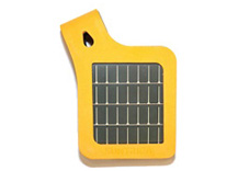 SolarStrap™ for iPod and iPhone (certified for iPhone4) (Orange)