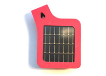 SolarStrap™ for iPod and iPhone (certified for iPhone4) (Pink)