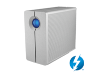 2big Thunderbolt Series 4TB | 2-Bay RAID | Dual Thunderbolt