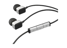 AE Black ACOUSTIC EXCELLENCE Premium in-ear headphones