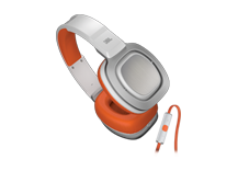 JBL J88i Over-Ear Headphones With Pure Bass and MIC/REMOTE - orange