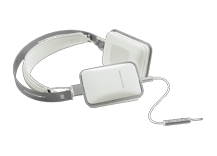 CL White CLASSIC Precision on-ear headphones