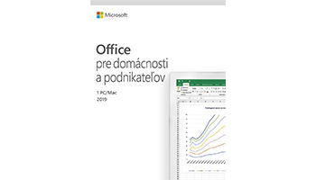 Office Home and Business 2019 SK - na 1 PC/Mac