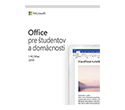 Office Home and Student 2019 SK - na 1 PC/Mac
