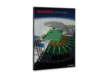 AutoCAD LT for Mac 2013 Commercial Upgrade from 1 to 3 Previous Version EN