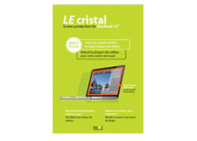 LE cristal MacBook (Pro) 13 Glass/Led , Matt Finish