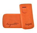 bugatti Perfect Velvety nubuck leather mandarin for iPhone 4 / 4S